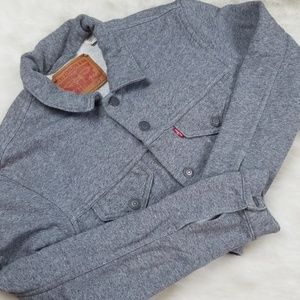 Levi's sweatshirt jacket